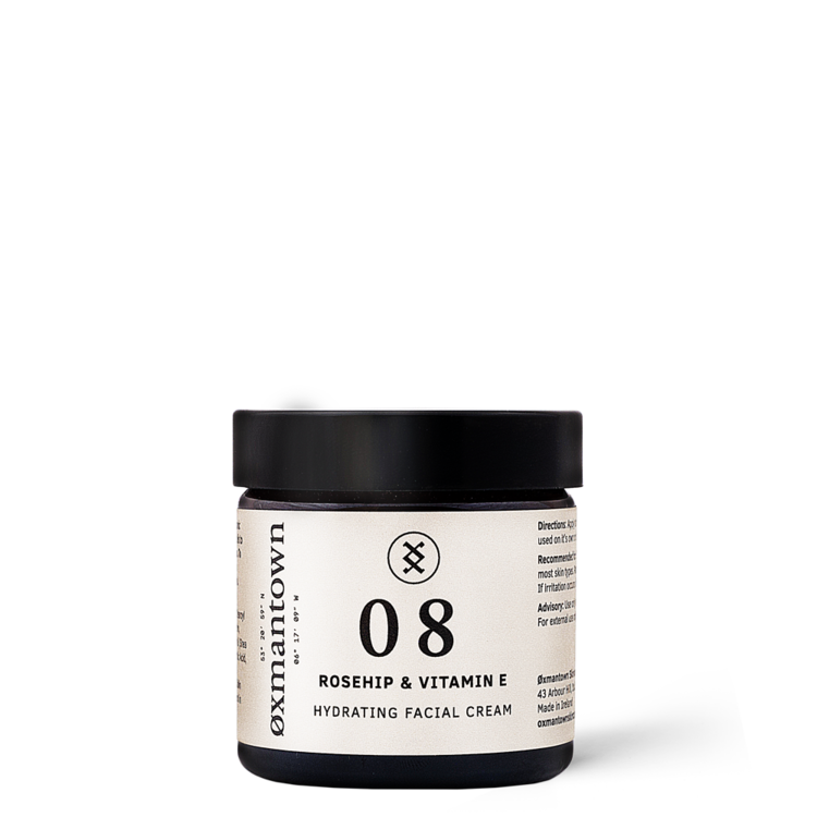 Oxman Town Hydrating Facial Cream Rosehip + Vitamin E