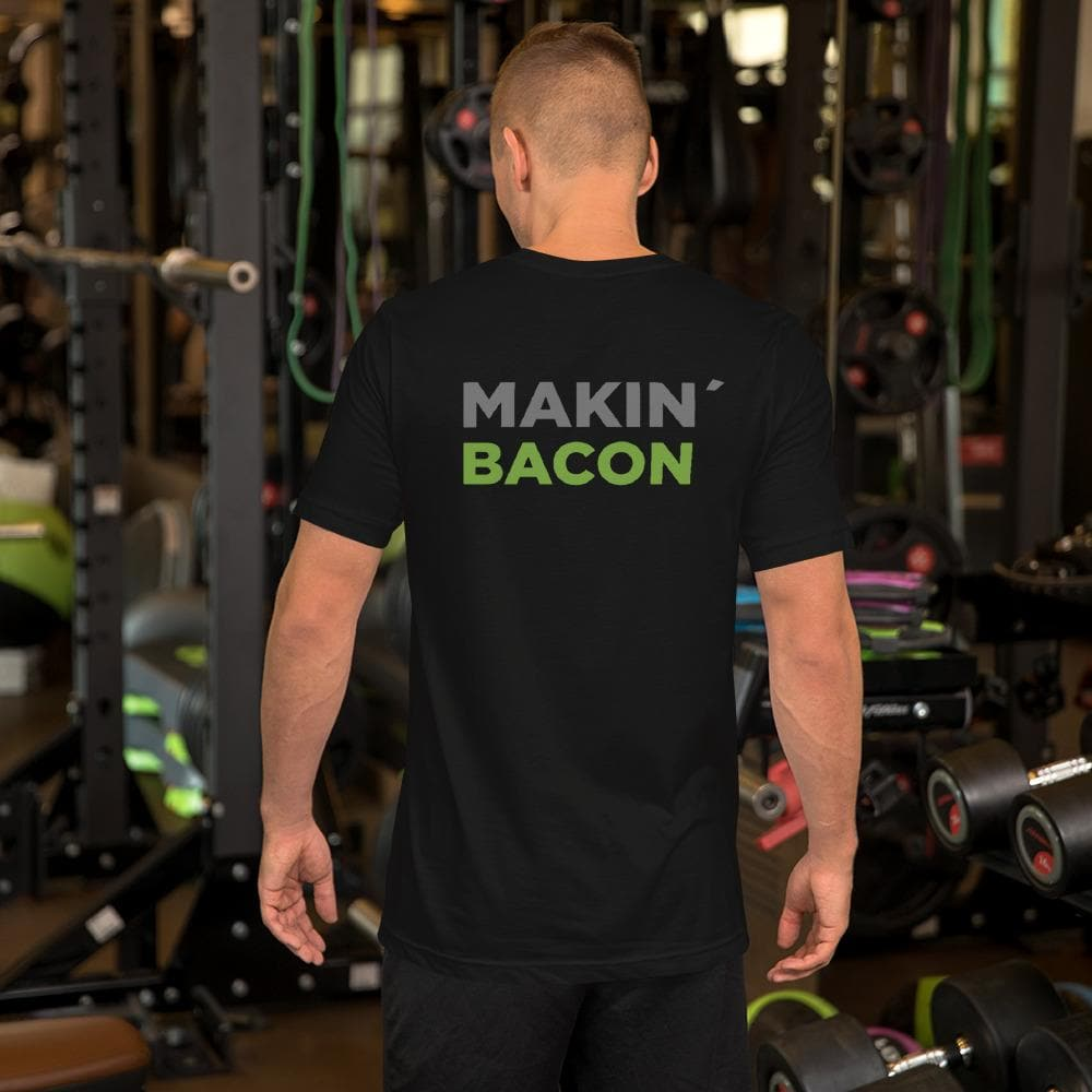 Makin' Bacon - Short-Sleeve Double Sided Unisex T-Shirt