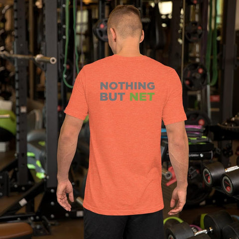 Nothing But Net - Short-Sleeve Double Sided Unisex T-Shirt