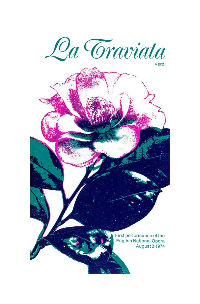 La Traviata, 1974, Programme Cover