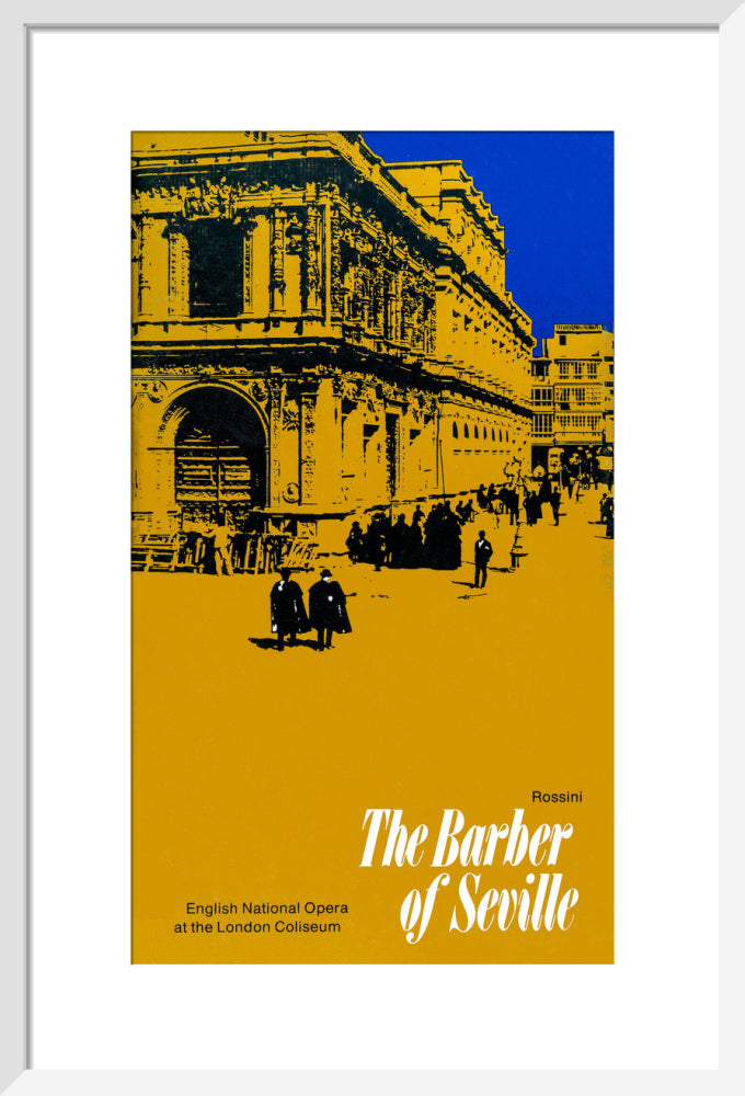 The Barber of Seville, 1980, Programme Cover