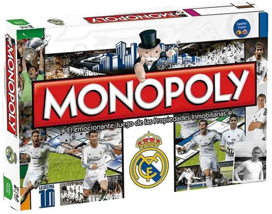 hasbro MONOPOLY REAL MADRID CF