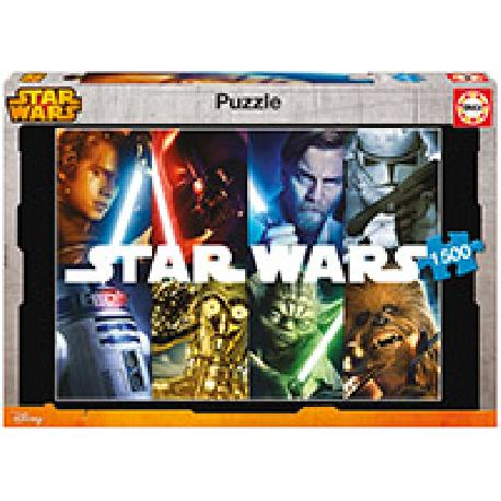 EDUCA PUZZLE 1500 STAR WARS