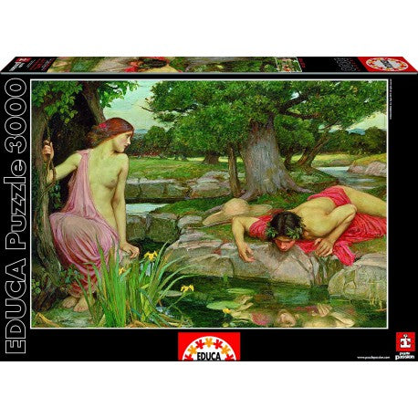 Educa Puzzle 3000 ECO Y NARCISO 15541