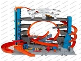 mattel hoot wels ULTIMATE GARAGE