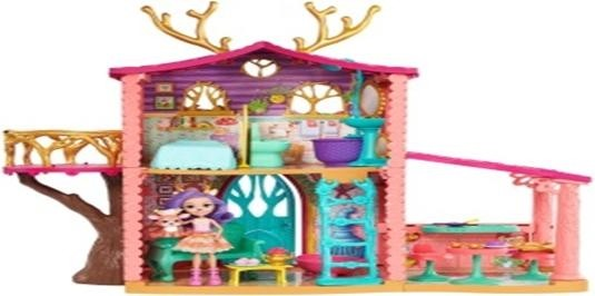 mattel enchantimals SUPERCASA DEL BOSQUE Y DANESSA