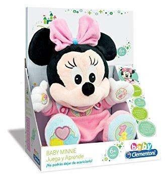 clementoni PELUCHE EDUCATIVO BABY MINNIE