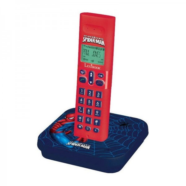 SPIDERMAN TELEFONO INALAMBRICO