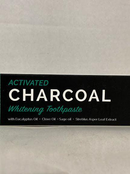 Activated Charcoal Whitening Toothpaste 6.5oz (184g)