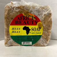 African Beauty Jelly Jelly Black Soap 100% Natural