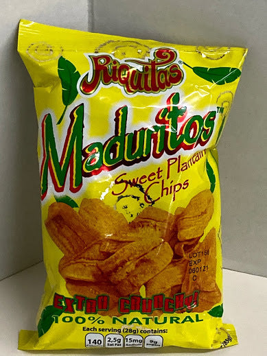 Maduritos sweet plantain chips