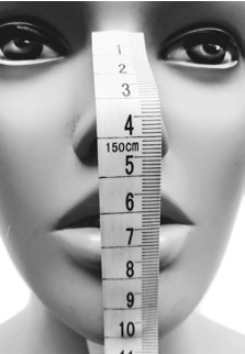 Mask measure front