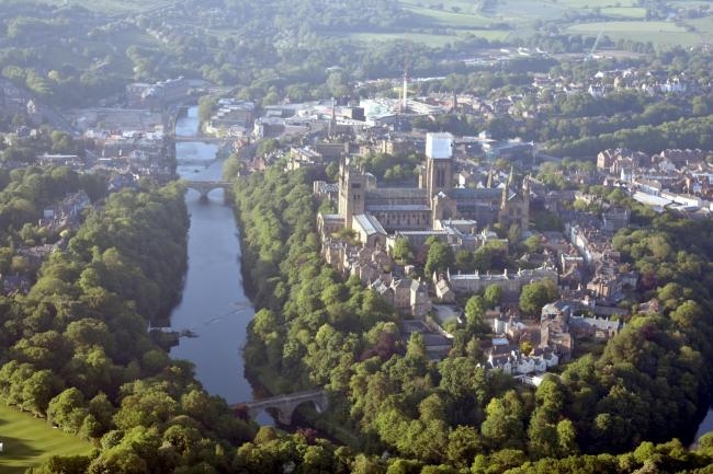 Durham City Arial View