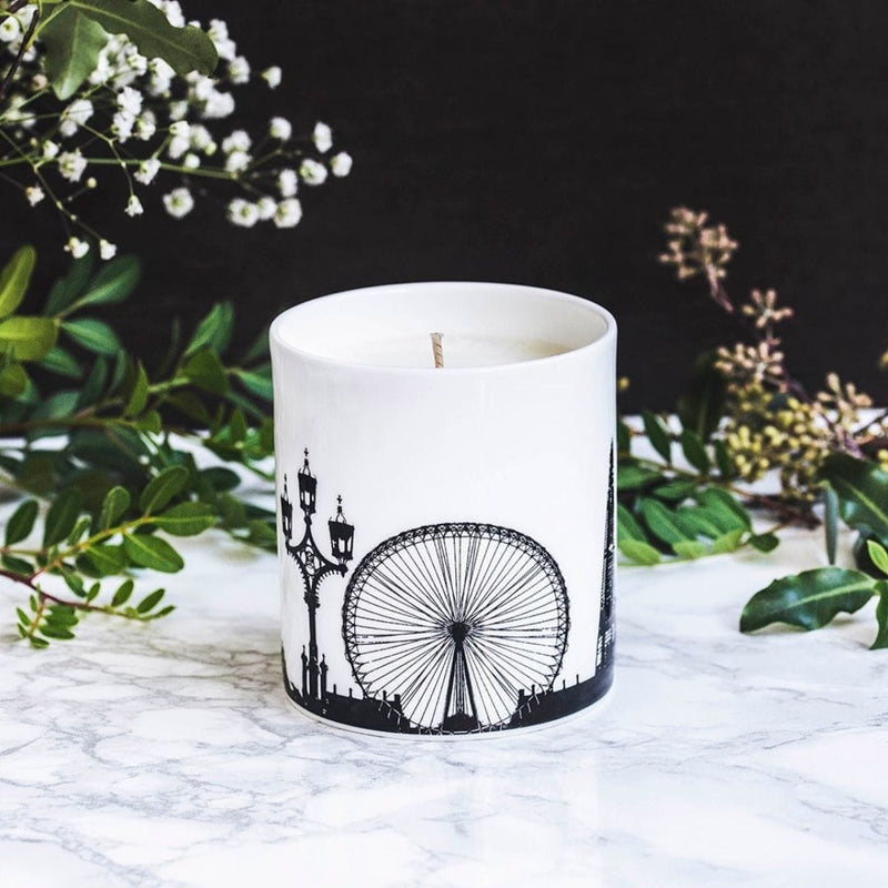 London Candle & holder