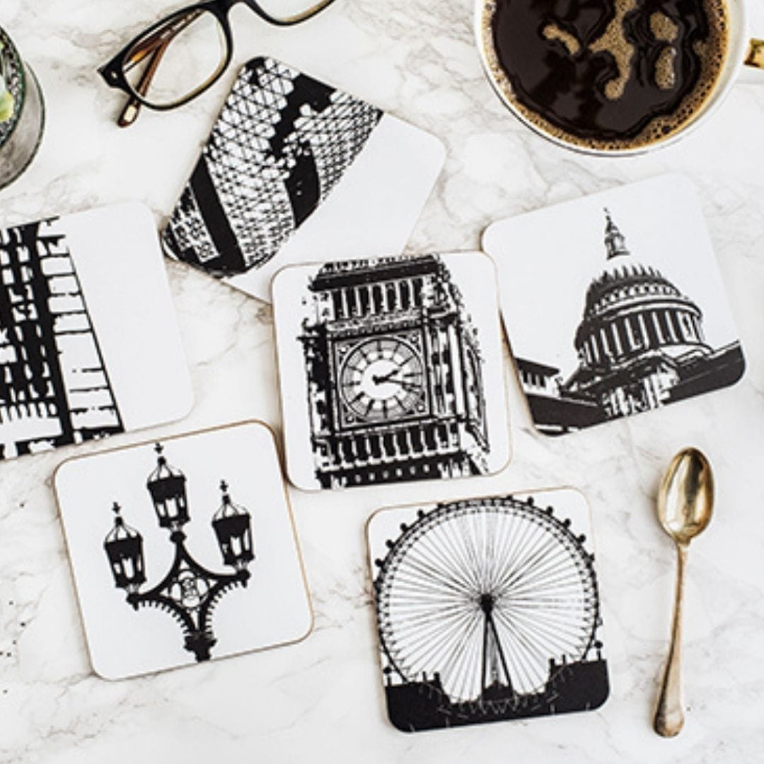 London Coaster Set (Pack of 6)