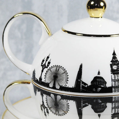 London Tea For One Set