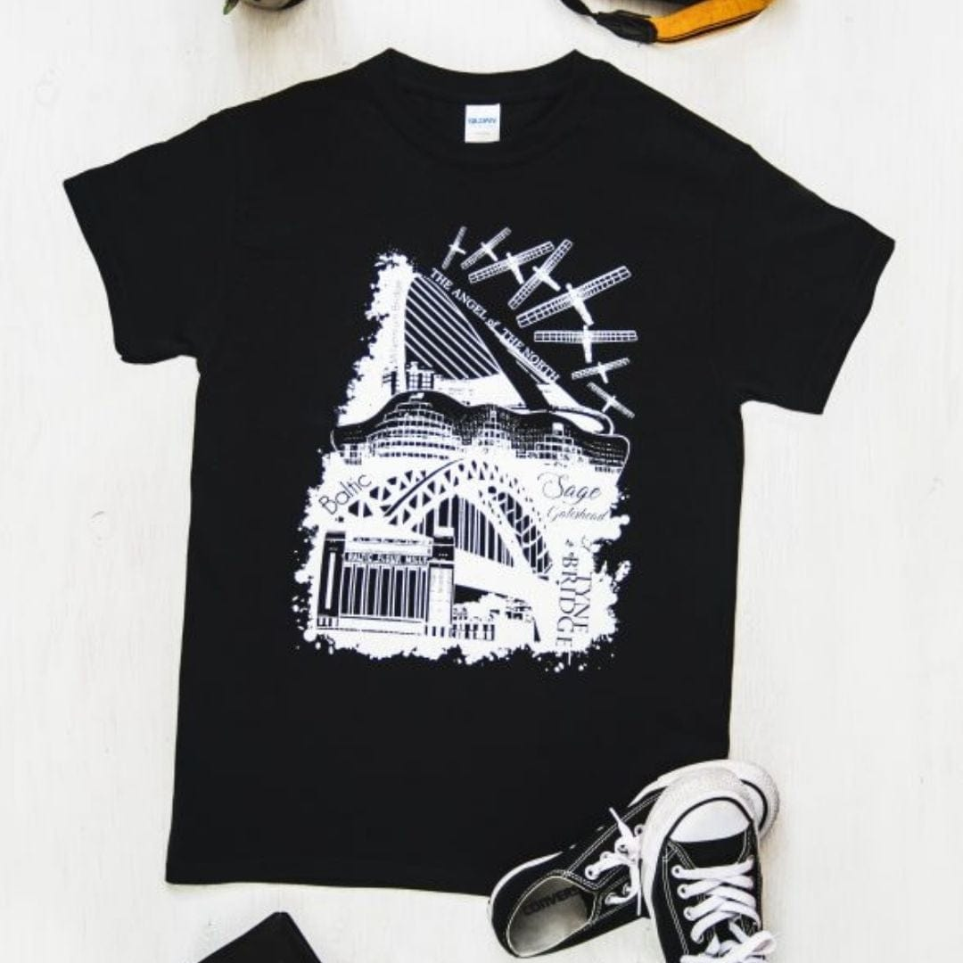 Newcastle Landmarks T-Shirt