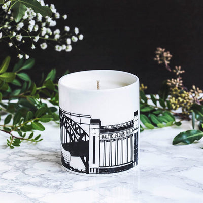 Newcastle hand-poured candle