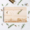 Newcastle Skyline Chopping Board