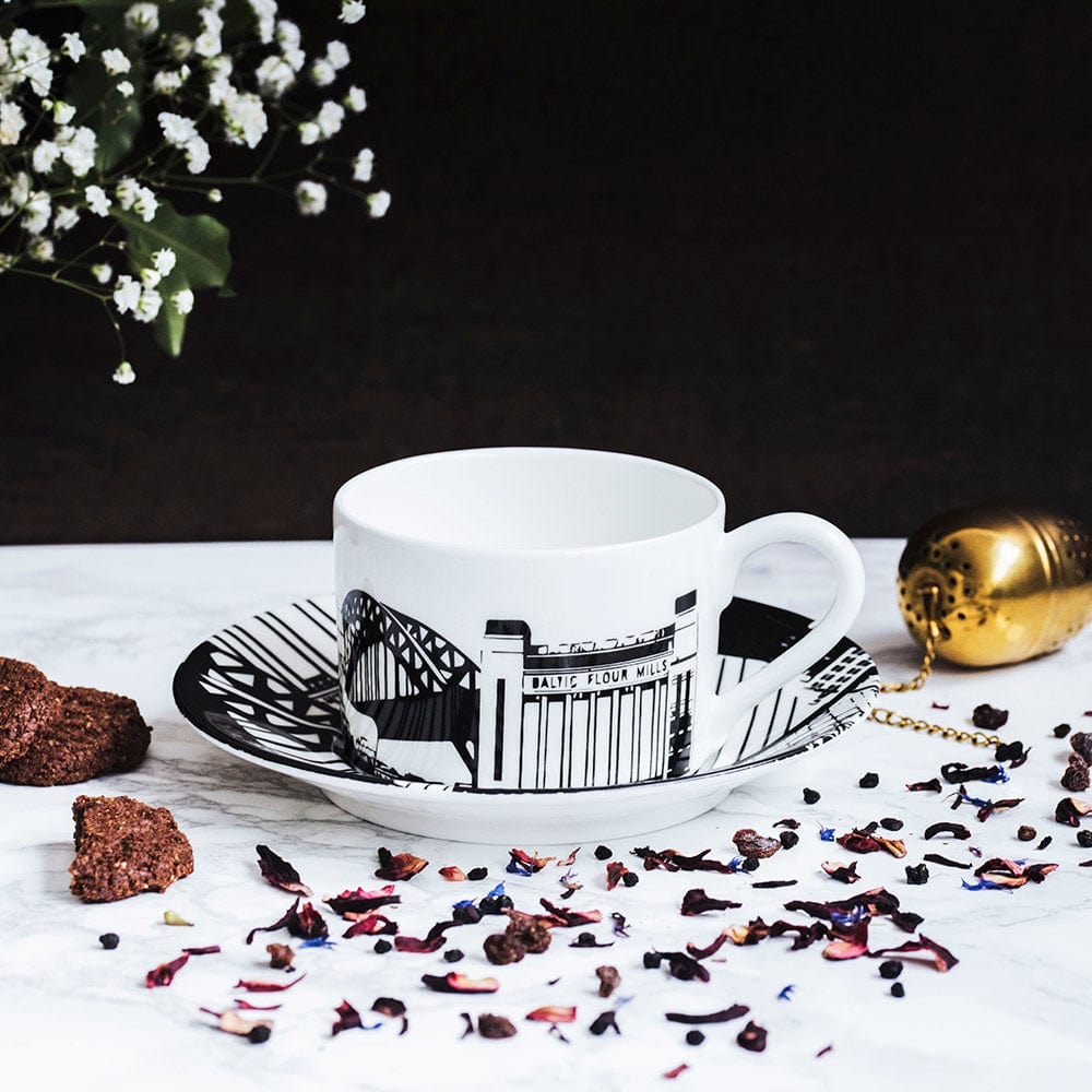 Newcastle Tea Cup & Saucer