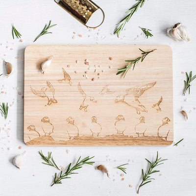 Farne Island Chopping Board
