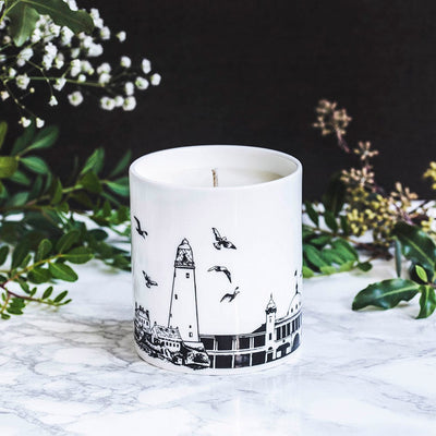 Whitley Bay candle