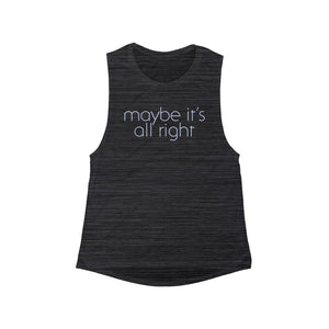Maybe Women's Muscle Tank