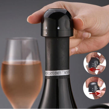 3ps Vacuum Red Wine Bottle Cap Stopper Silicone Sealed Champagne Bottle Stopper Vacuum Retain Freshness wine plug Bar Tools