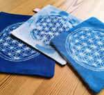 Load image into Gallery viewer, Coaster with flower of life Design