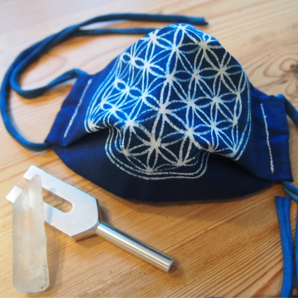 Face mask (M) with Flower of Life
