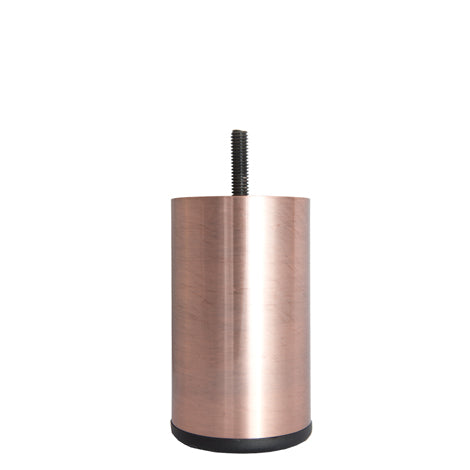 100MM STEEL TUBE LEG [ANTIQUE COPPER PLATED] 1