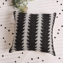 Load image into Gallery viewer, Black Boho Pillow