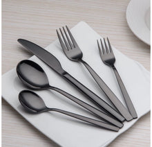Load image into Gallery viewer, Black Cutlery