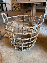Load image into Gallery viewer, Open Weave Rattan Basket