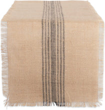 Load image into Gallery viewer, Jute / Burlap table runner