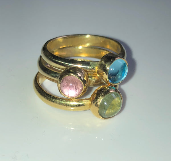 Pastel Stacking Rings