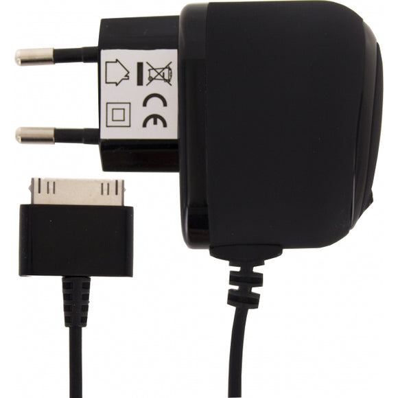 Mobilize Premium Travel Charger Apple 30-Pin 1.0A 5W Black