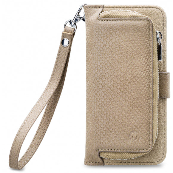 Mobilize 2in1 Gelly Zipper Case Samsung Galaxy J3 2017 Latte