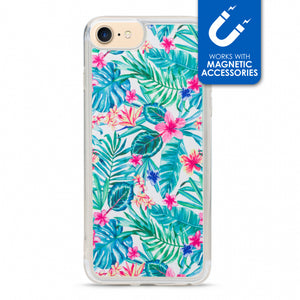 My Style Magneta Case for Apple iPhone 6/6S/7/8 Plus White Jungle