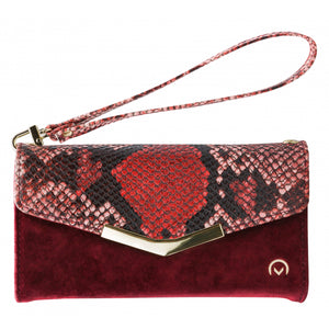 Mobilize 2in1 Gelly Velvet Clutch for Samsung Galaxy S8 Red Snake