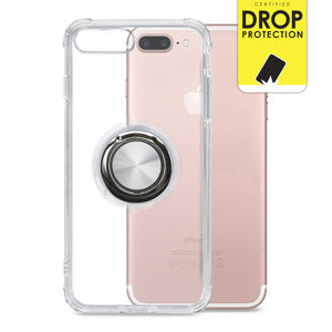 My Style Protective Flex Magnet Ring Case for Apple iPhone 7/8 Plus Clear
