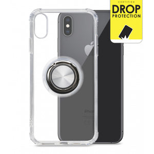 My Style Protective Flex Magnet Ring Case for Apple iPhone Xs Max Clear