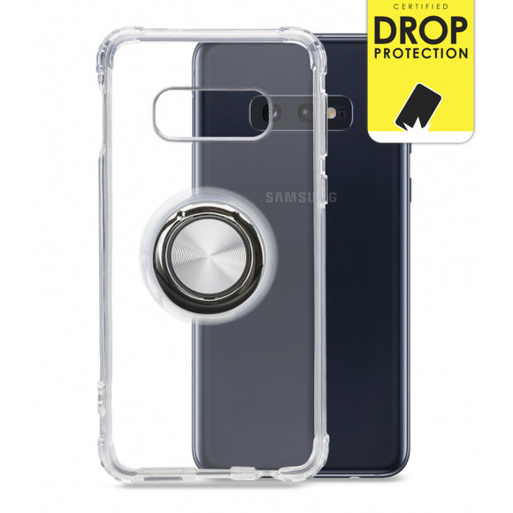 My Style Protective Flex Magnet Ring Case for Samsung Galaxy S10e Clear
