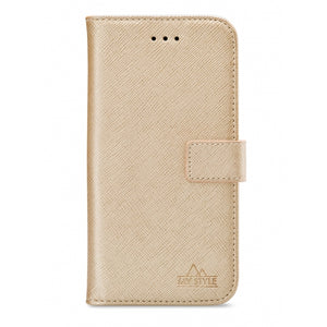 My Style Flex Wallet for Apple iPhone 12 Mini Gold