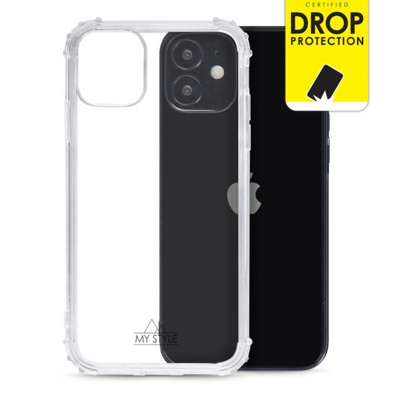 My Style Protective Flex Case for Apple iPhone 12 Mini Clear