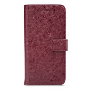My Style Flex Wallet for Samsung Galaxy M11 Bordeaux