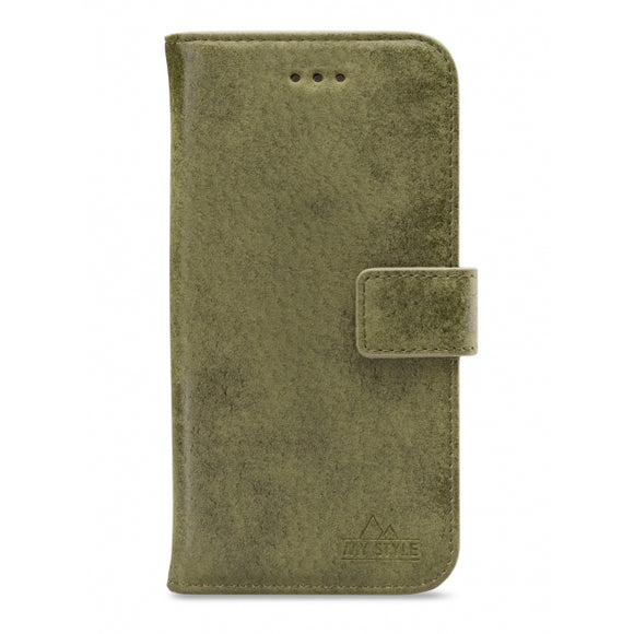 My Style Flex Wallet for Samsung Galaxy S21 Olive