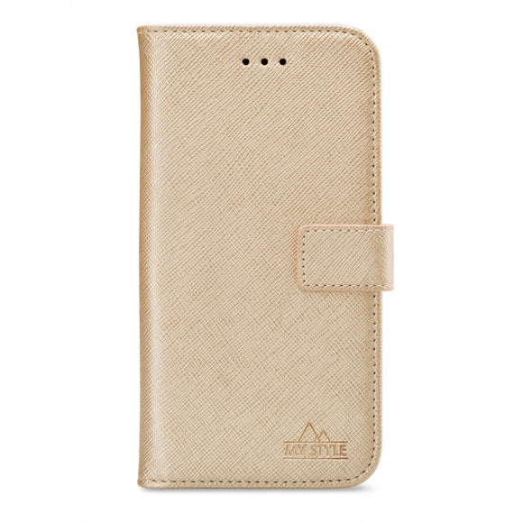 My Style Flex Wallet for Samsung Galaxy A12 Gold