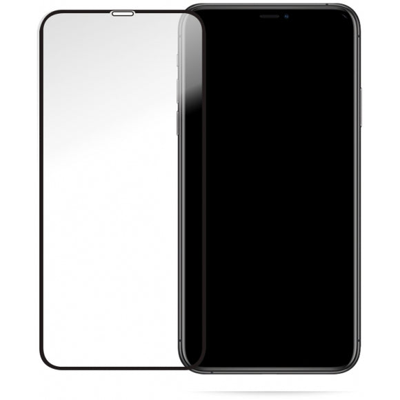 Mobilize Glass Screen Protector - Black Frame - Apple iPhone XS Max/11 Pro Max