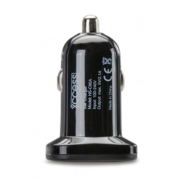 Xccess Car Charger Single USB 2.1A Black